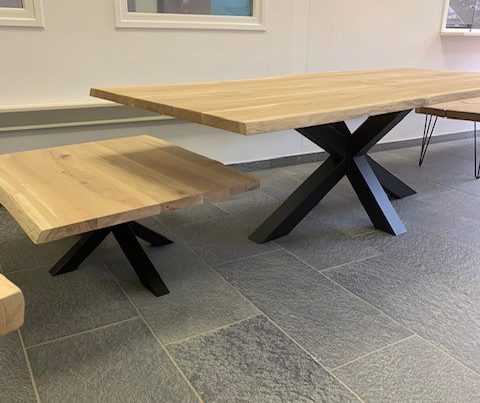 Boomstam tafeltje / salontafel